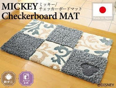 ミッキー/チェッカーボードマット
