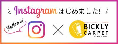 びっくりカーペット 公式 Instagramはじめました。 follow us!