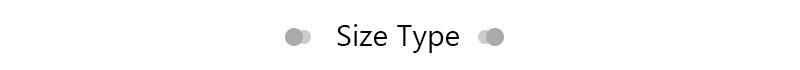 size type