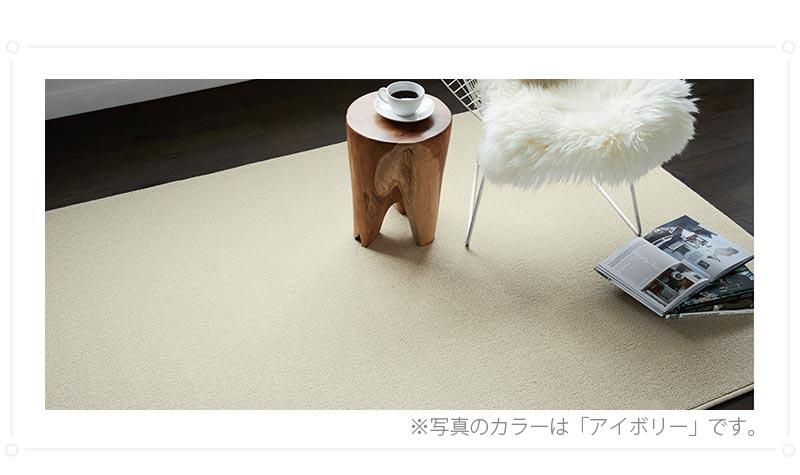 100サイズ 高い遮音性と踏み心地の良い高機能カーペット【アフェリー】