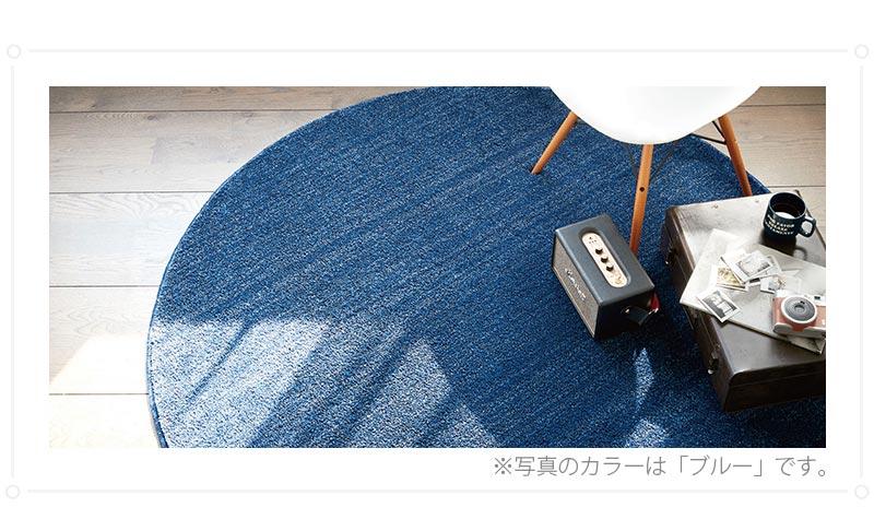 100サイズ 高機能ムシカビクリーン加工のシャギーカーペット【アピア】