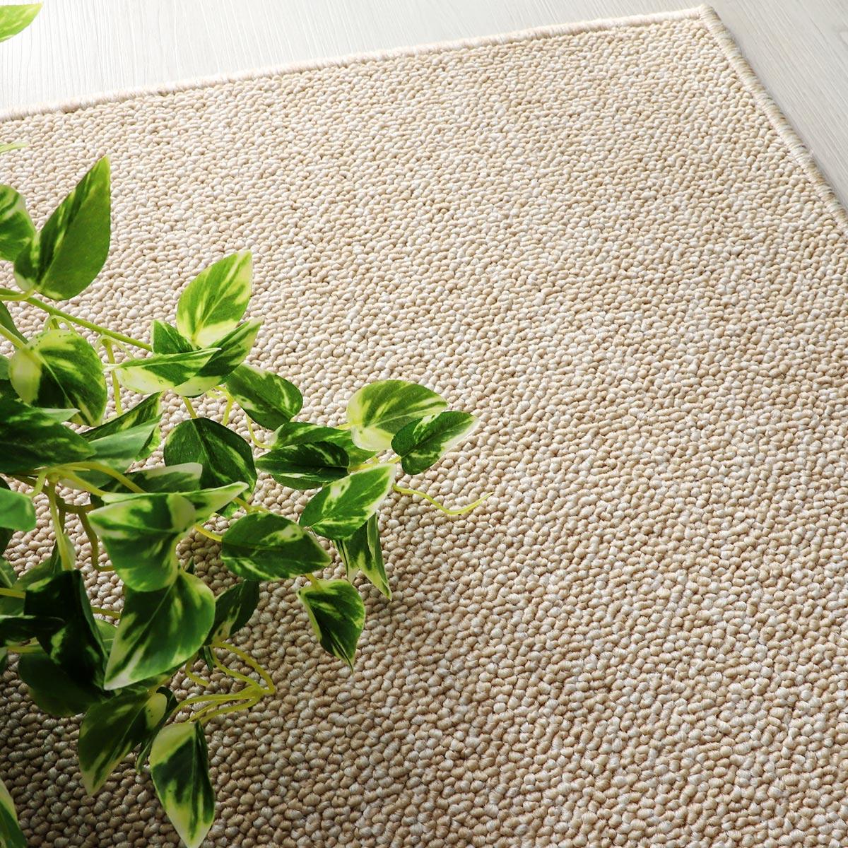 100サイズ 汚れが落ちやすいPTT繊維高機能カーペット【アーチ】