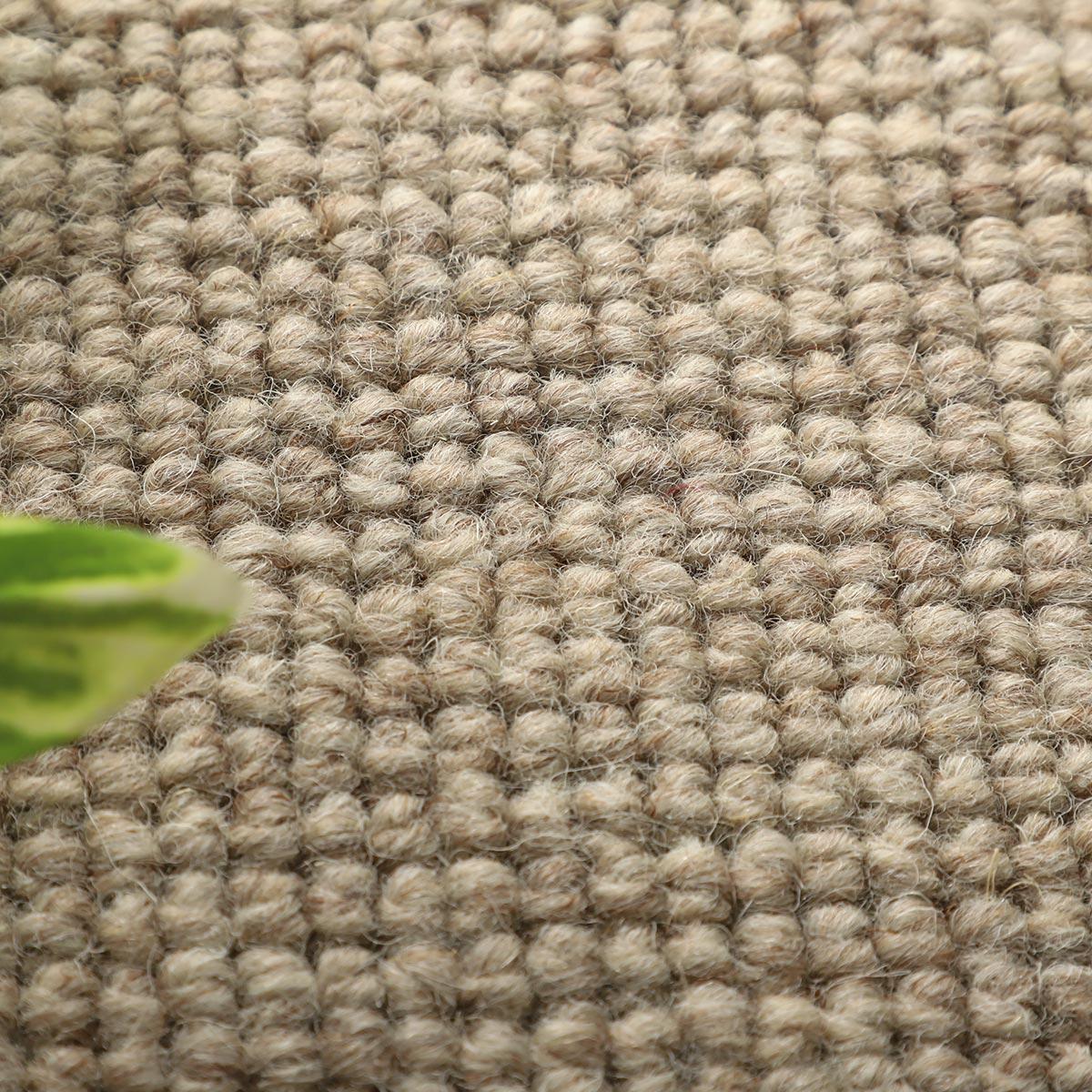 100サイズ 上質感のある高機能無染色ウール100%カーペット【アシカート】