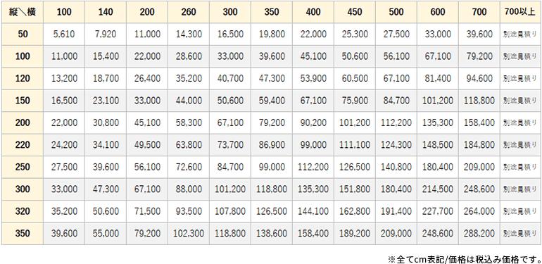 コルト価格表
