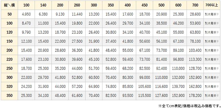 レスター価格表
