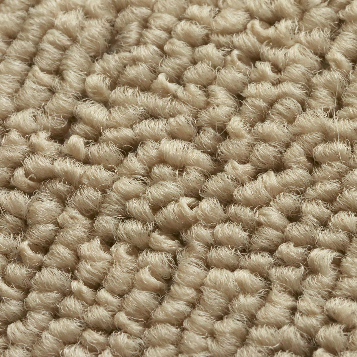 ループ状の毛足でお掃除しやすい。