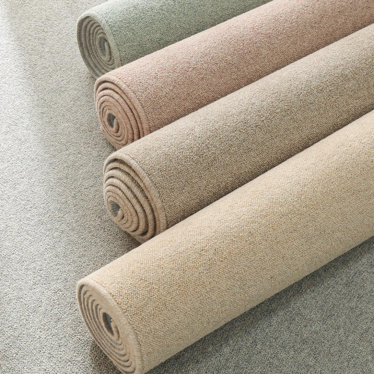 ウール100%ミックスパイル 日本製カーペット『テアトル』