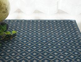 お洒落な柄物のカーペット