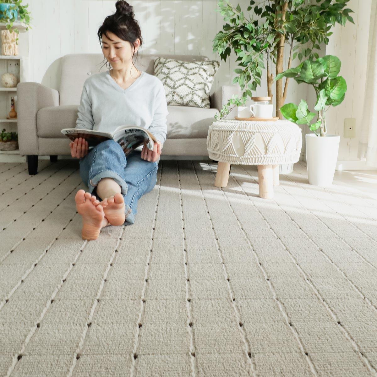 環境にやさしいカーペット クレア