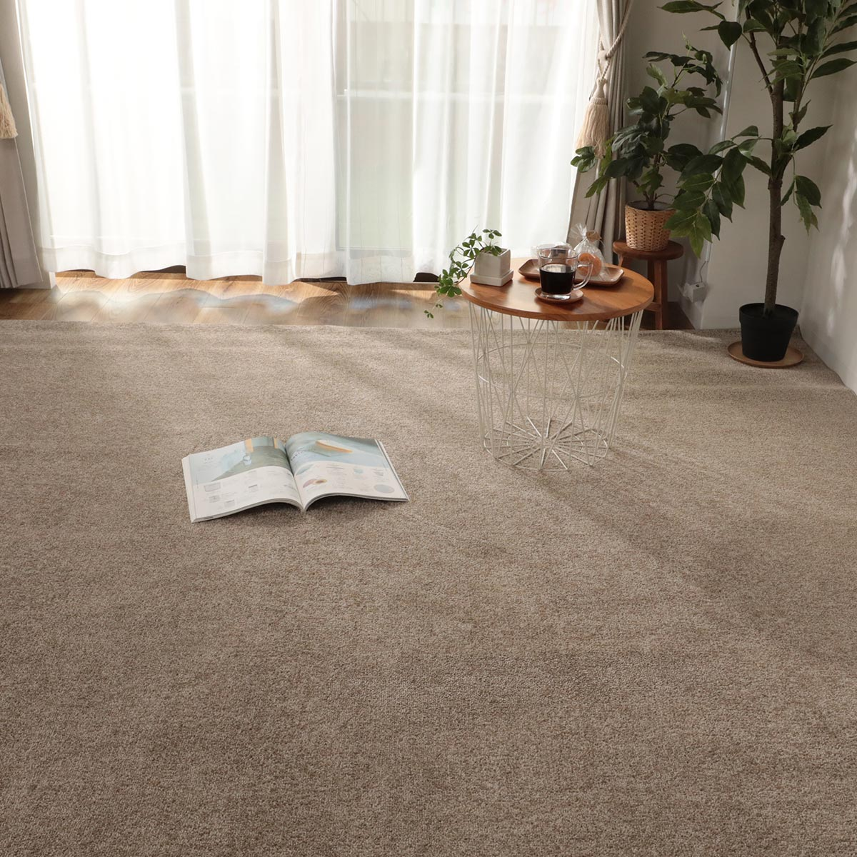 消臭・防ダニ・制菌防臭機能付ききカーペット『リデン』写真3