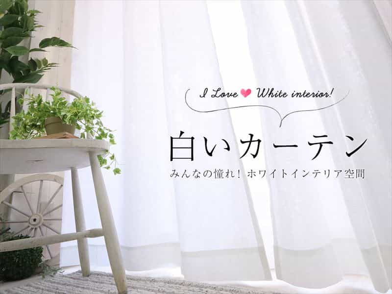 白いカーテン特集