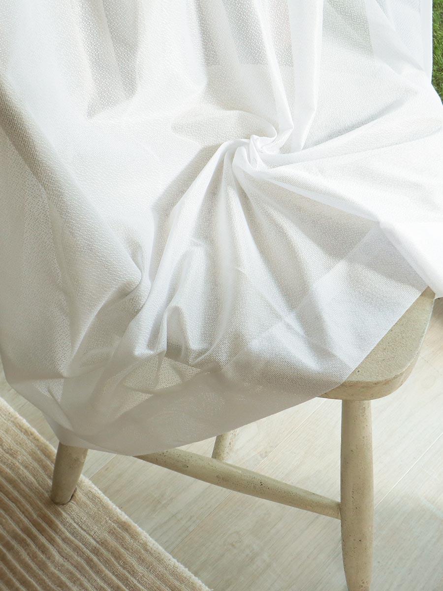 白いレースカーテン ハナシア