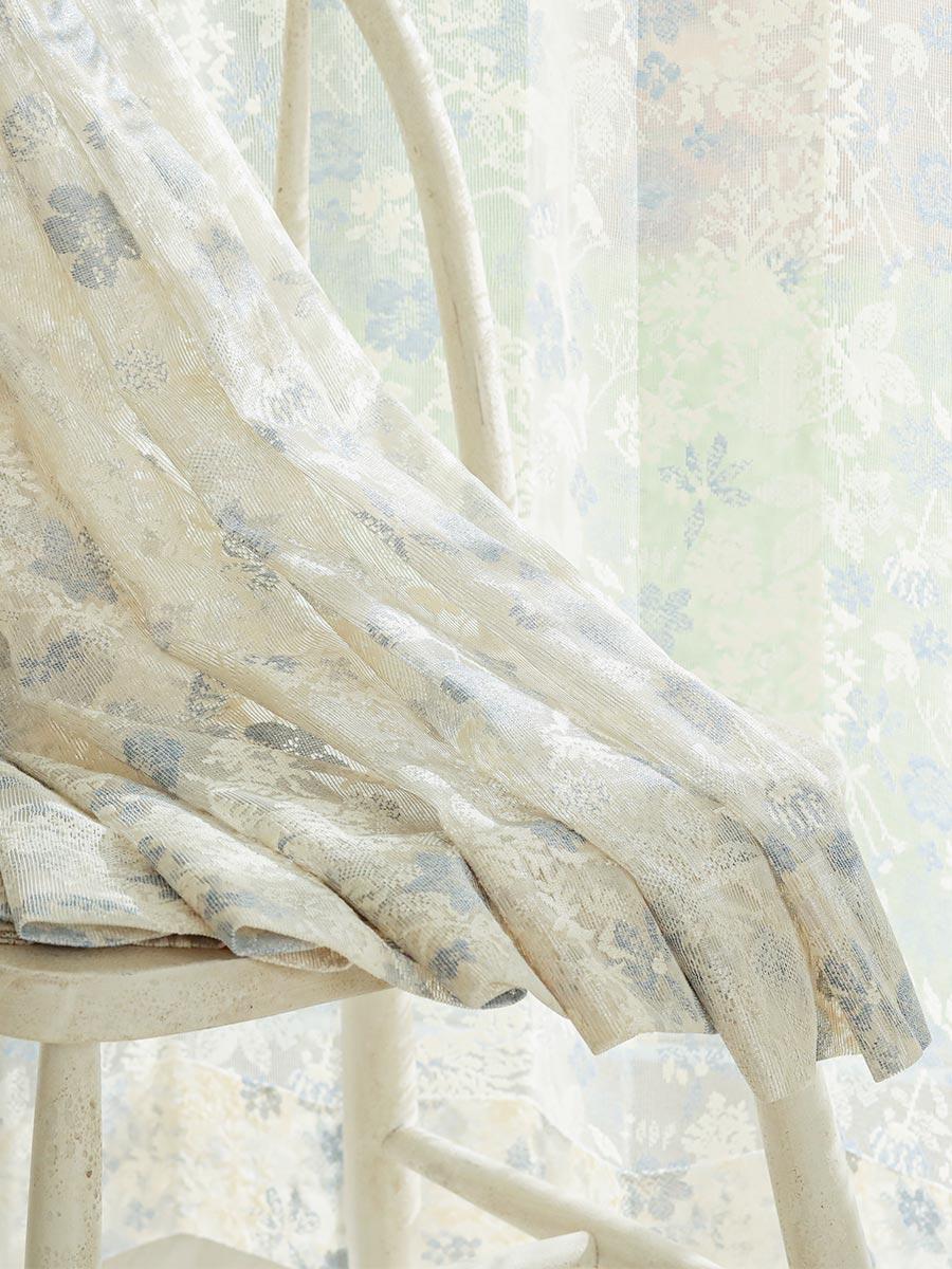 カラーレースカーテン リブーケ 使用例1
