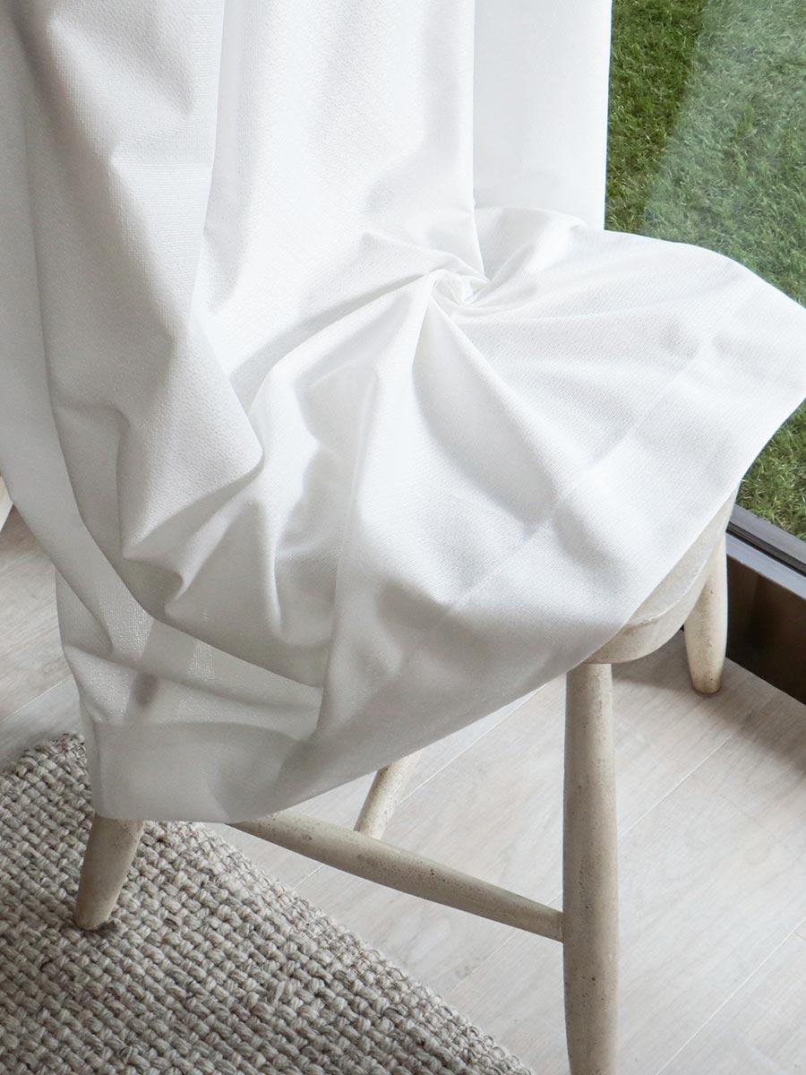 白いレースカーテン リレーク