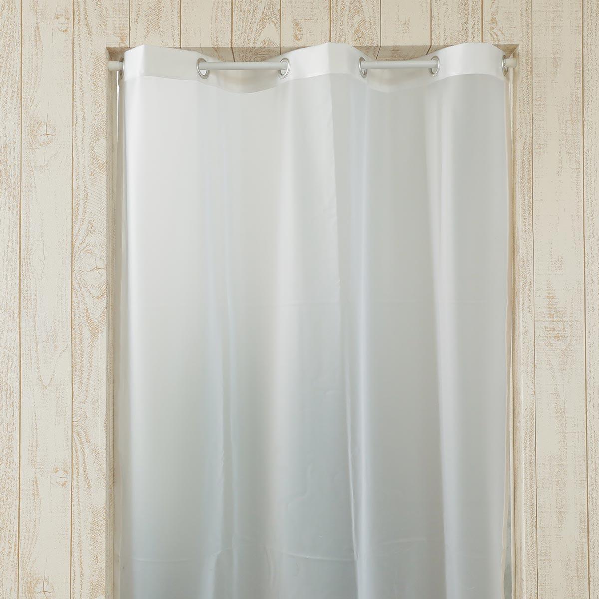 ビニールカーテン『シルエットカーテン ホワイト』イメージ2