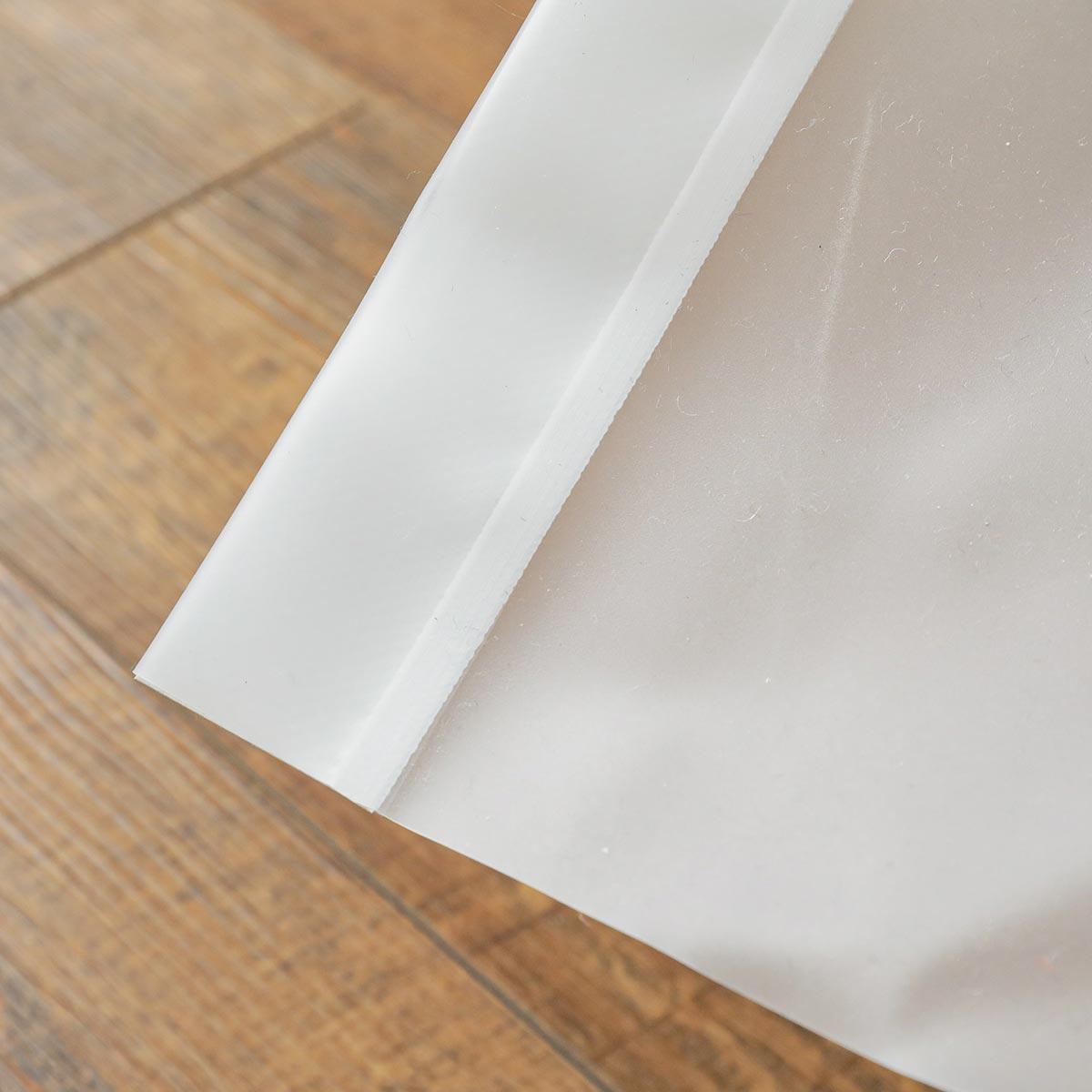 ビニールカーテン『シルエットカーテン ホワイト』イメージ4