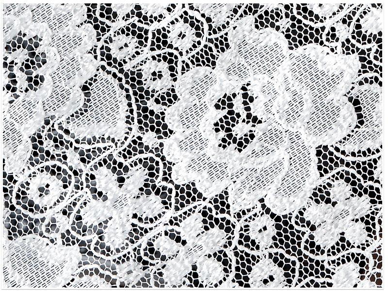 高級編みレースカーテン