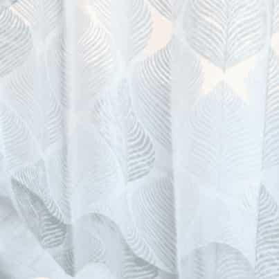 北欧デザイン レースカーテン