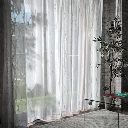 国産高級編みレースカーテン