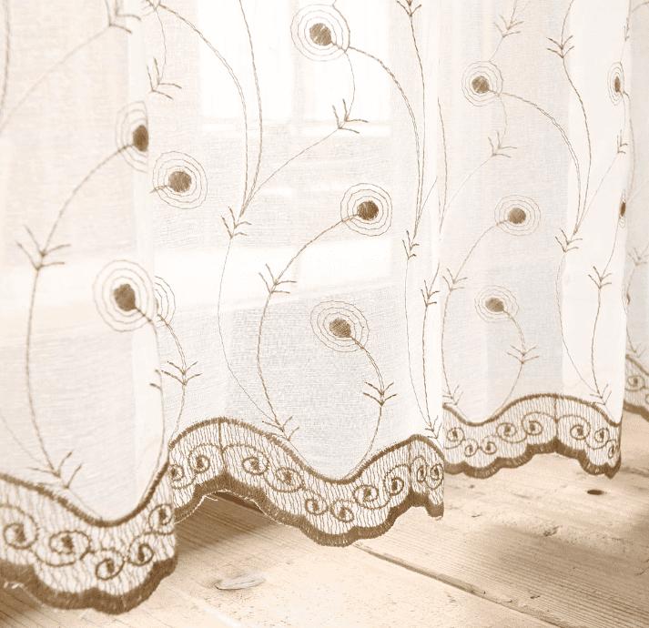 エレガント刺繍