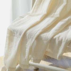 天然素材カーテン キラフ ホワイト03