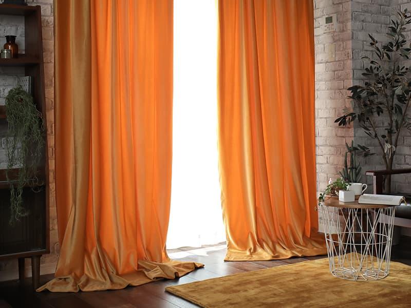 シャビーベルベット パールオレンジ画像1