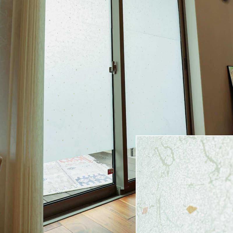 窓ガラスフィルム 和紙