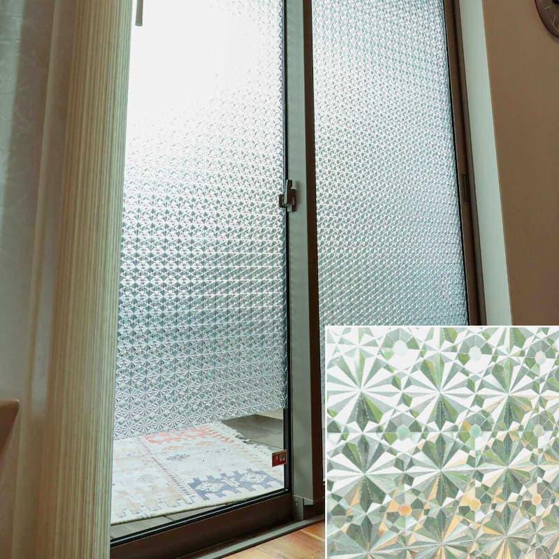 窓ガラスフィルム プリズム