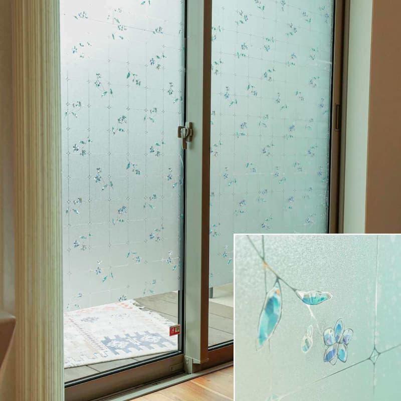 窓ガラスフィルム ホロプリントタイプ