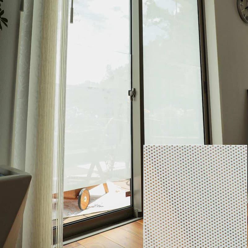 窓ガラスフィルム 省エネメッシュタイプ遮光