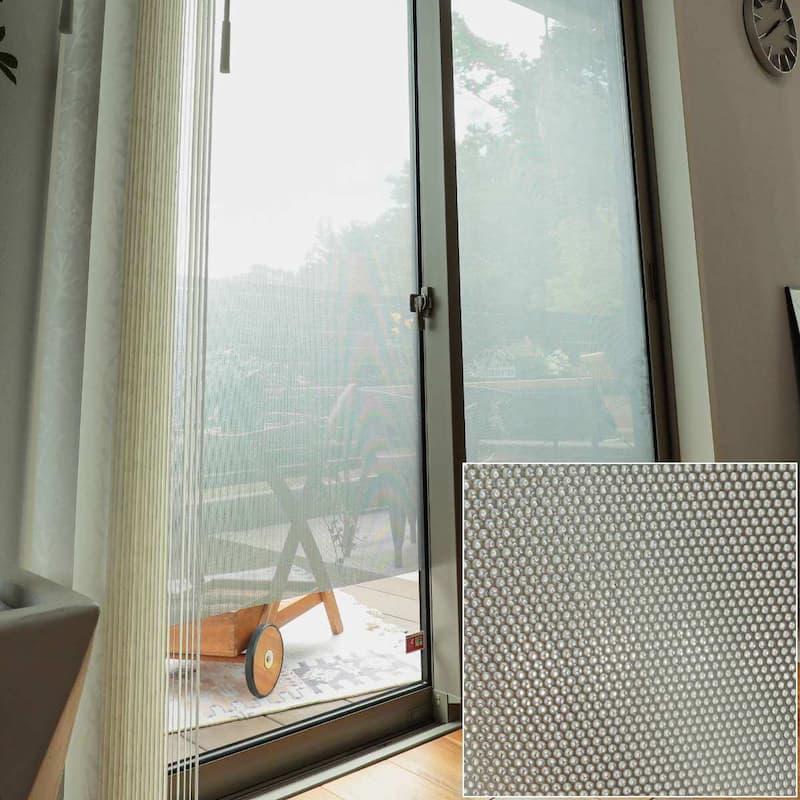 窓ガラスフィルム 省エネメッシュタイプ 遮熱