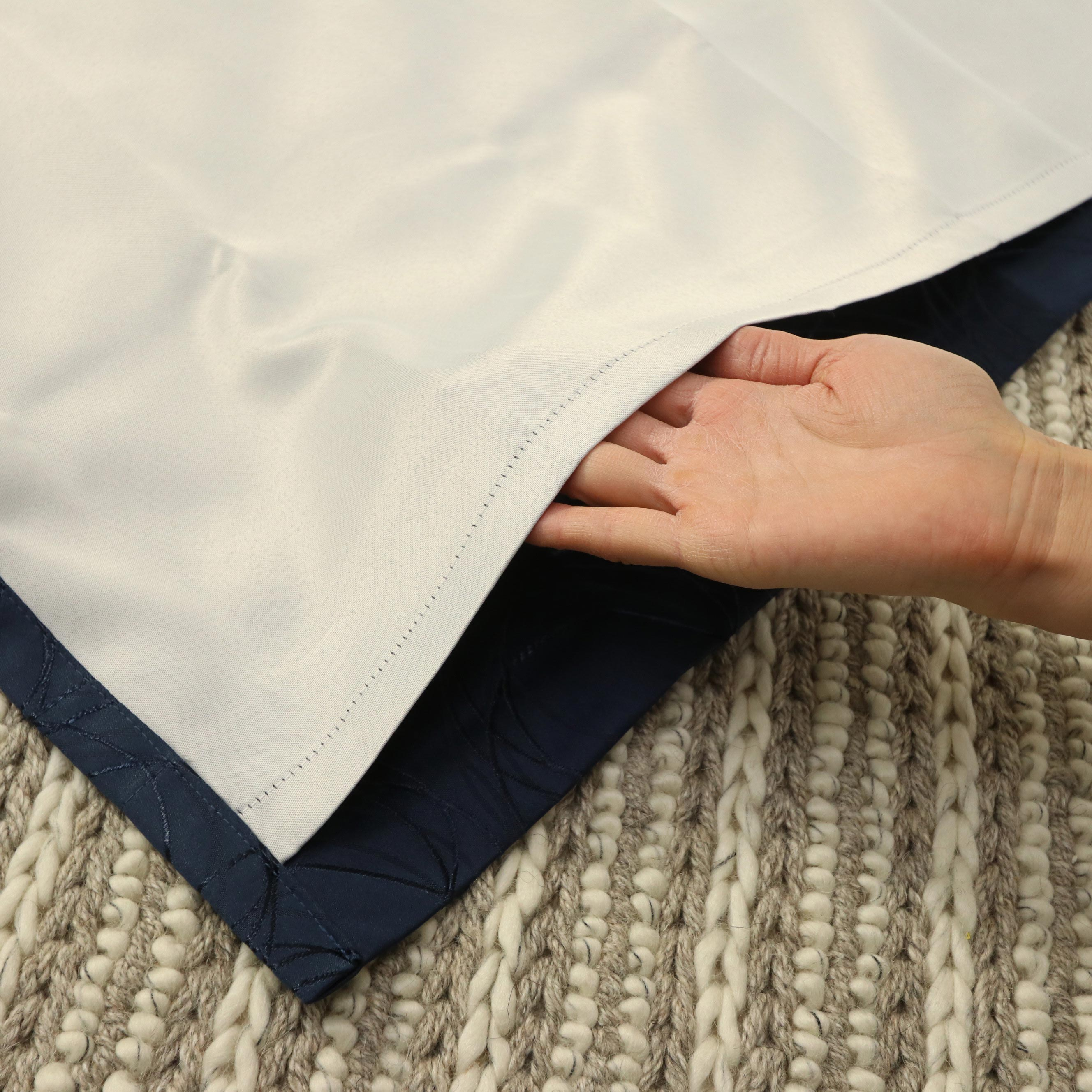 遮熱カーテン裏地