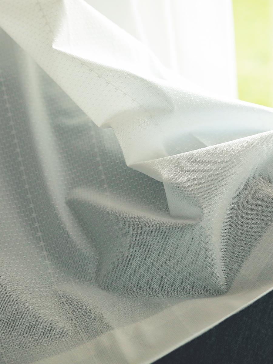 レースカーテン『パーフェクトレース ストライプ』説明画像1