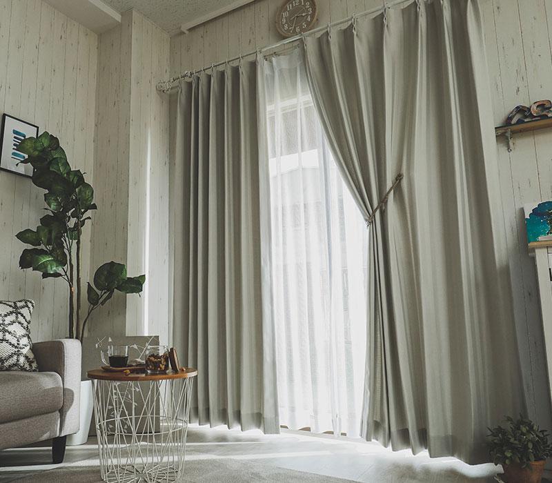 ドレープカーテン『ジギ』イメージ写真1