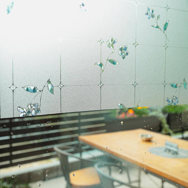 窓ガラスフィルム 貼り方6
