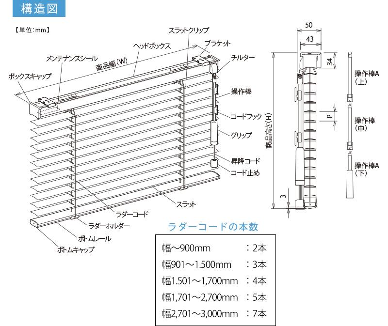 日本製大型アルミブラインド