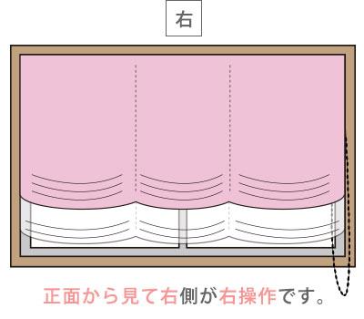日差しの調節と操作性の良さが魅力!ダブルチェーン式シェードカーテン
