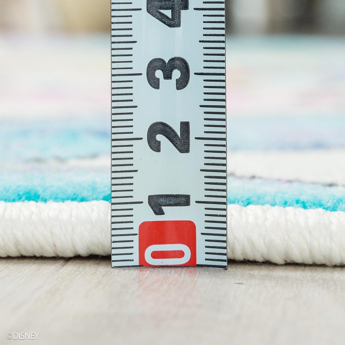 パイルの長さは7mm。程よい厚みで防炎加工付き。
