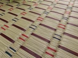 い草の織り面