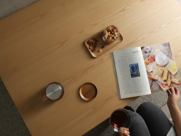 四角形こたつテーブル ダリル