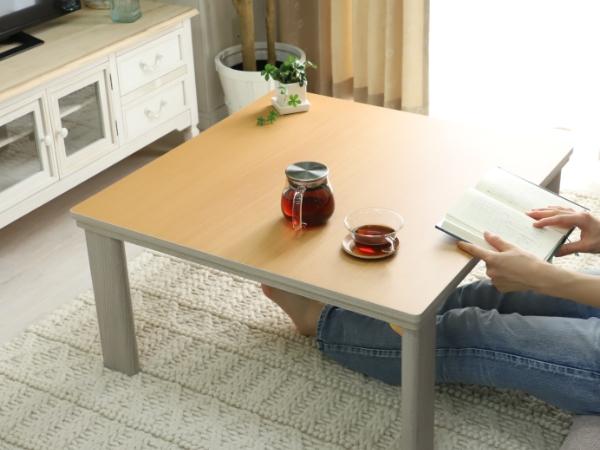 リバーシブルこたつテーブル レニー