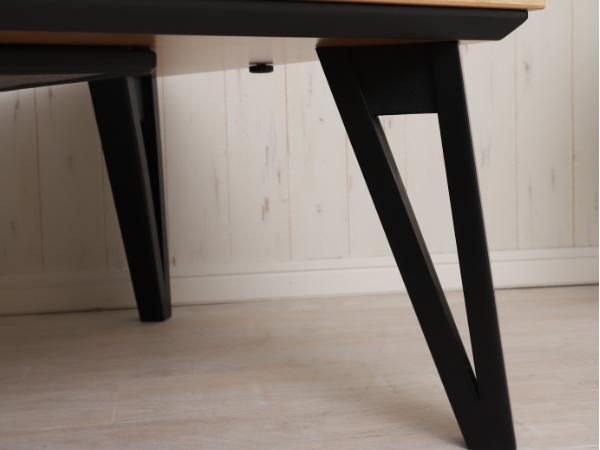 四角形こたつテーブル サイラス