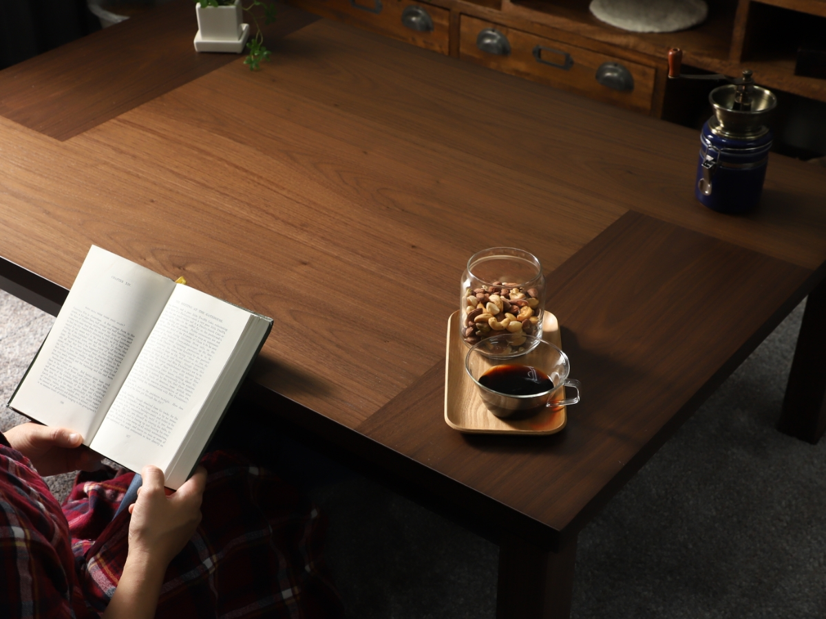 四角形こたつテーブル サーマン