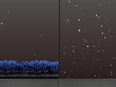 除塵機能のイメージ図