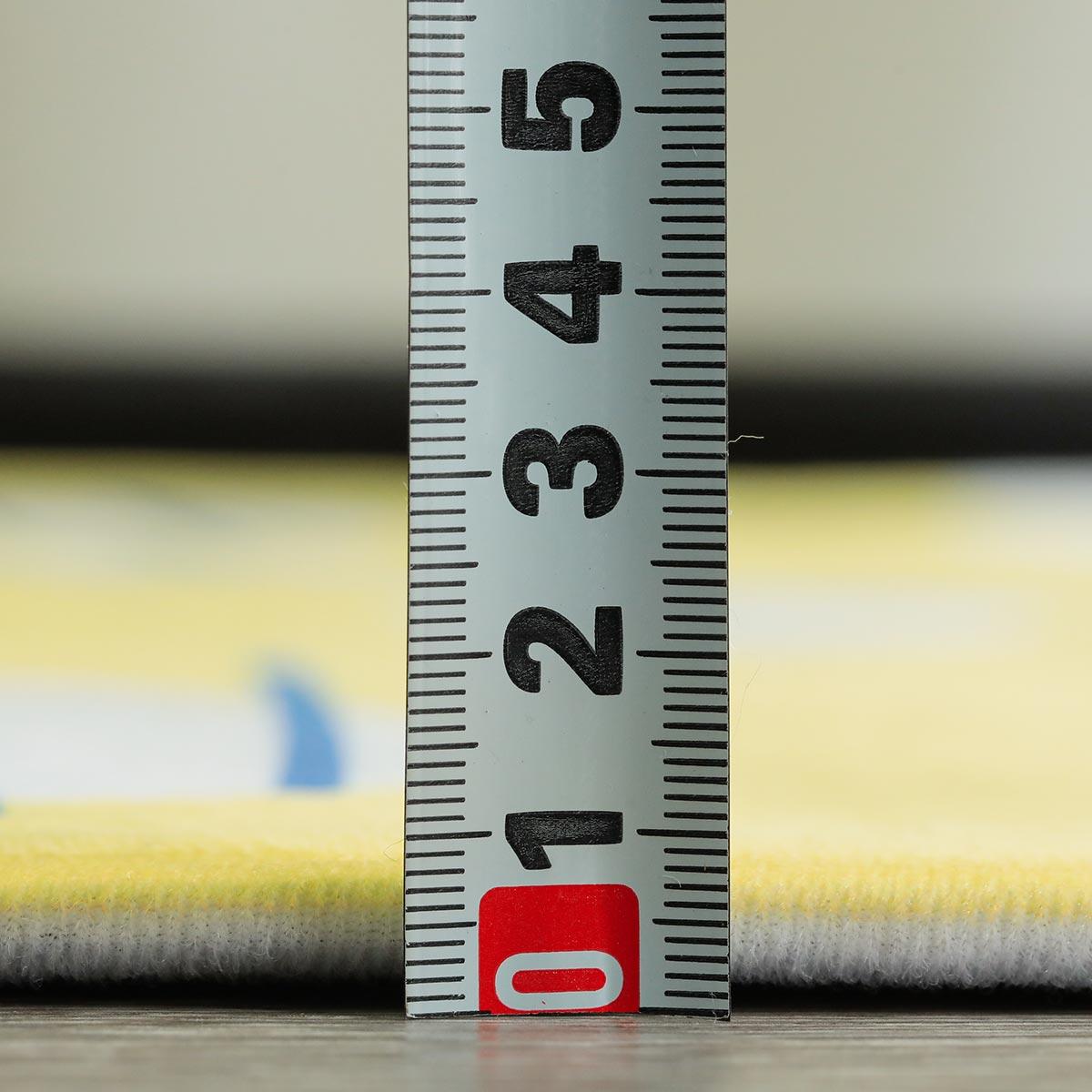 約5mmのウレタンが入っているのでほんのりふっくら。