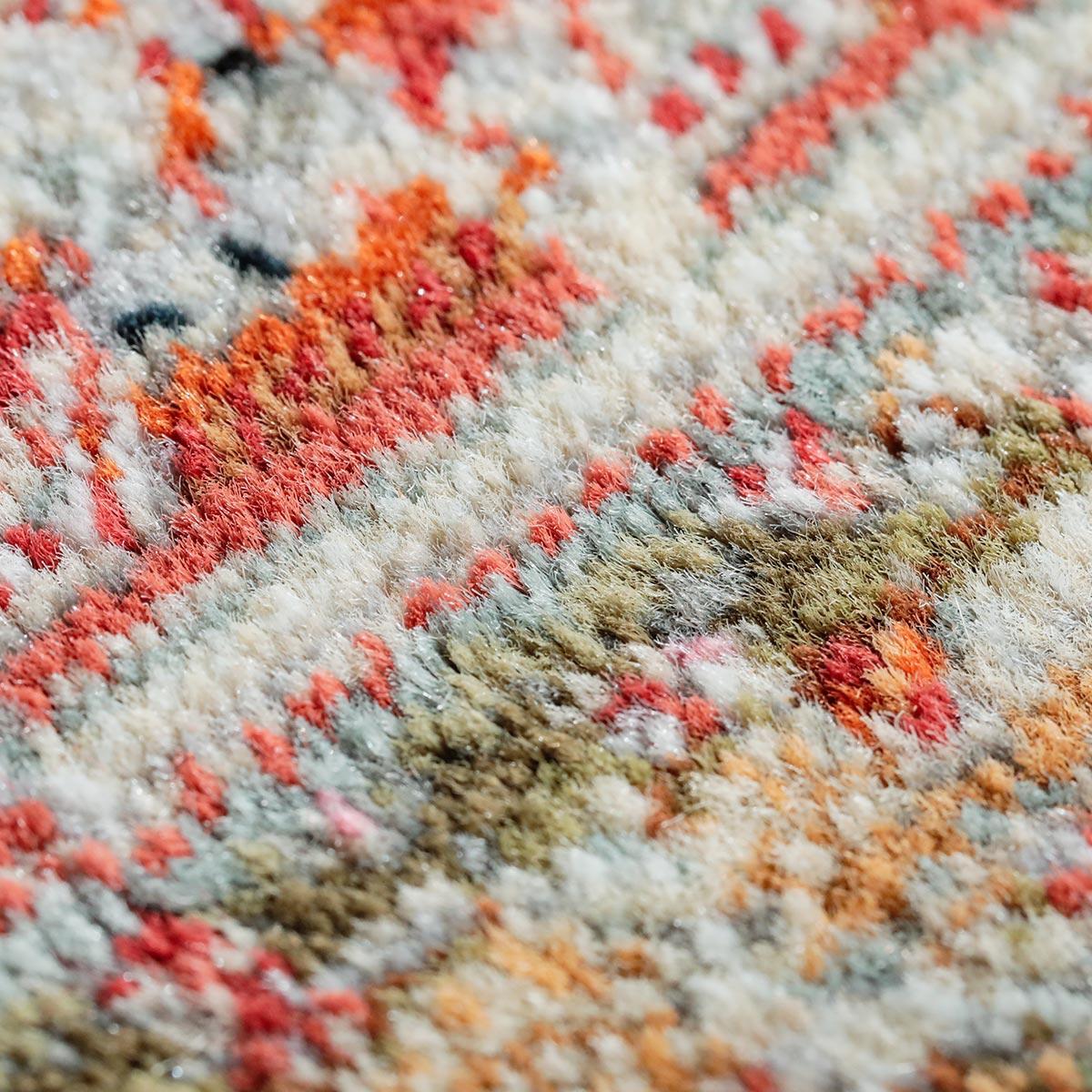 トルコ製ウィルトン織。丁寧に織り上げているので遊び毛が出にくいです。