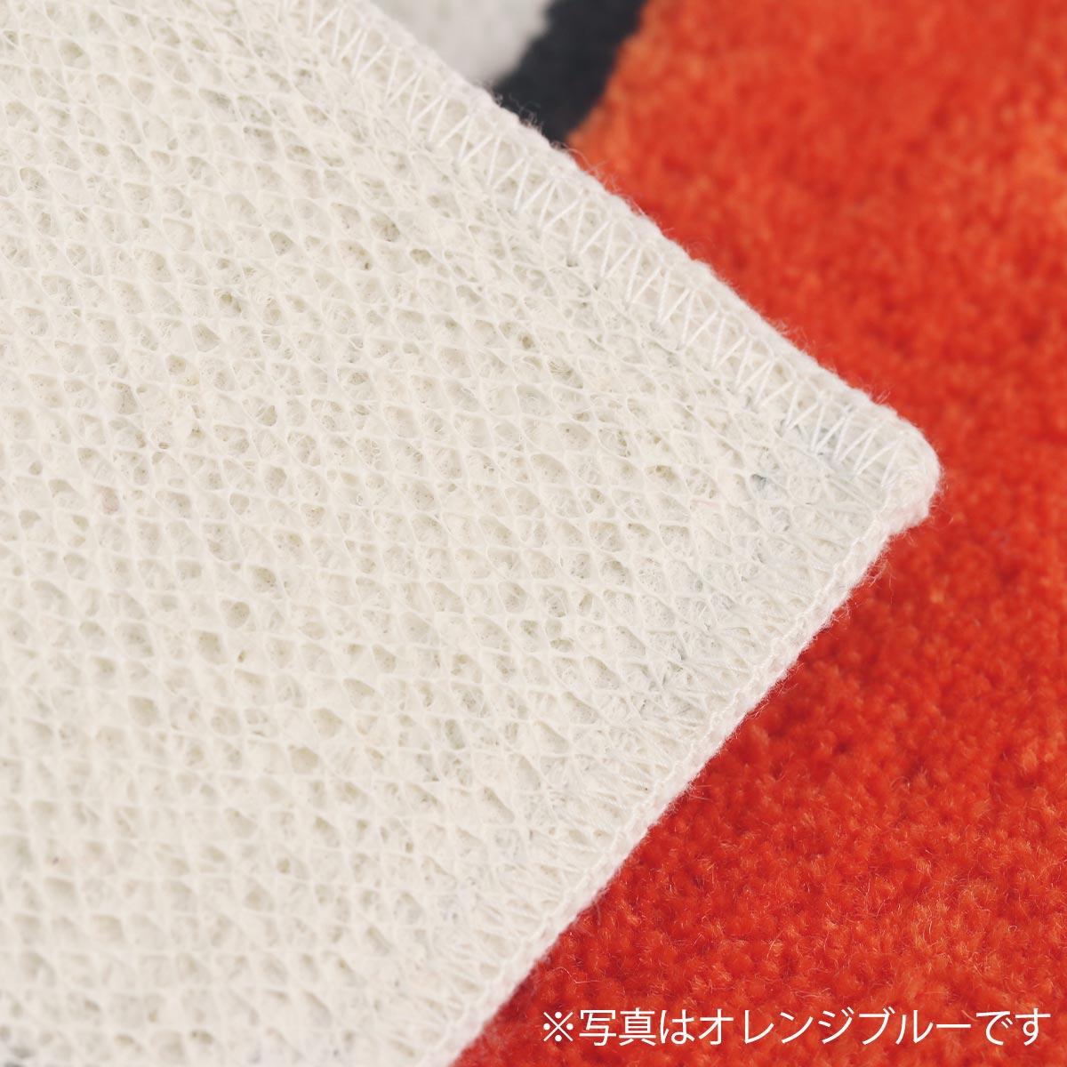 裏面はスベリ止め加工。安心の日本製。