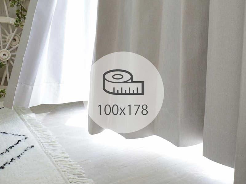 カーテン 100×178