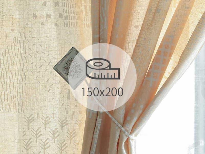 カーテン 150×200