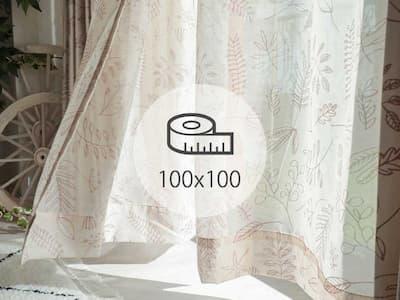 レースカーテン 100×100